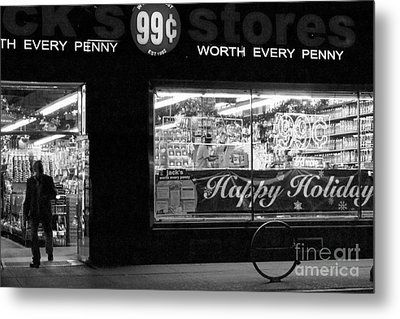 99 Cents - Worth Every Penny Metal Print by Miriam Danar