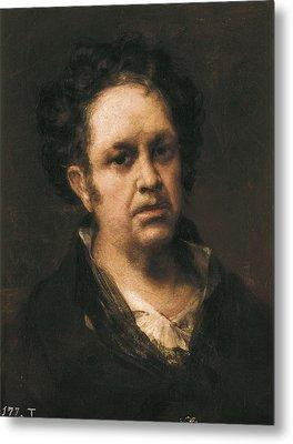 Goya Y Lucientes, Francisco De Metal Print by Everett