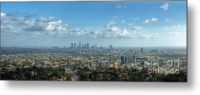 A 10 Day In Los Angeles Metal Print by David Zanzinger