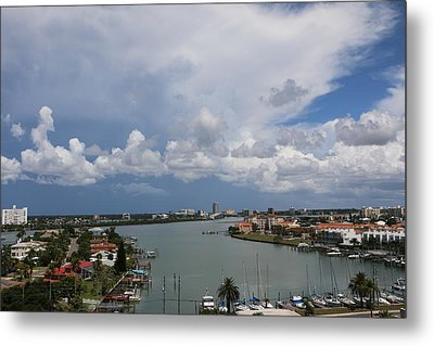 Clearwater Florida Metal Print by Paul SEQUENCE Ferguson             sequence dot net