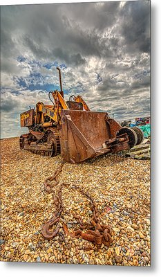 A Bad Case Of Rust Metal Print