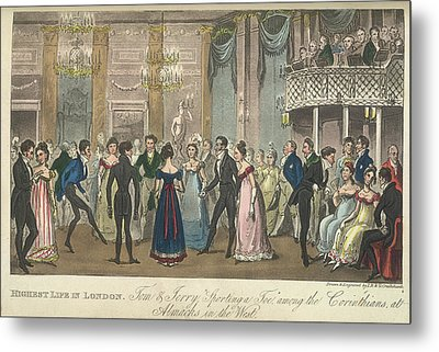 A Ballroom Metal Print by British Library