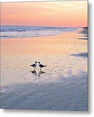 A Beach Romance Metal Print
