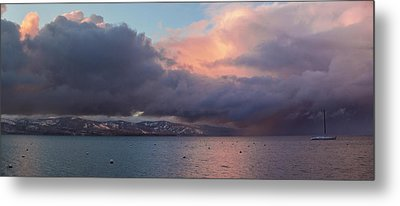 A Beautiful Storm Metal Print by Brad Scott