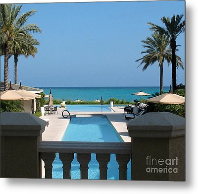 A Beautiful View Metal Print by Patti Whitten