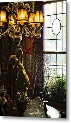 A Beauty Of The Old Hotels. Hotel Estherea. Amsterdam Metal Print by Jenny Rainbow