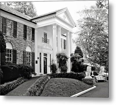 A Bit Of Graceland Metal Print