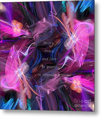 A Blessing Metal Print by Margie Chapman