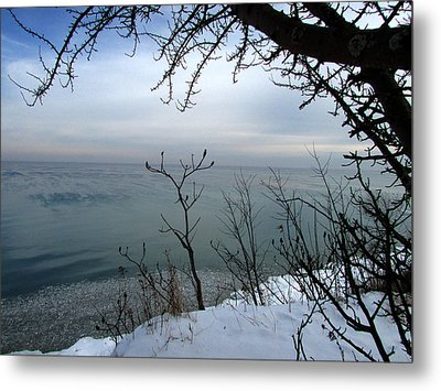 A Blue With A View Metal Print