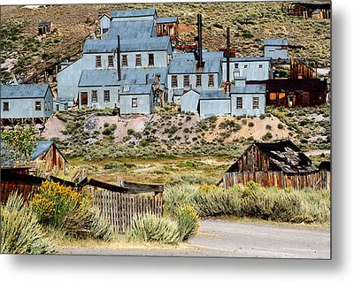 A Bodie View From Above Metal Print by Joseph Coulombe