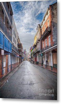 A Bourbon Morning Metal Print by Kay Pickens