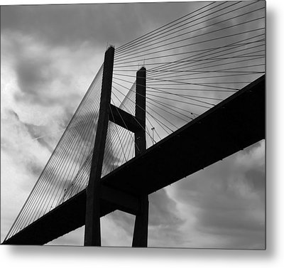 A Bridge Metal Print by Rhonda McDougall