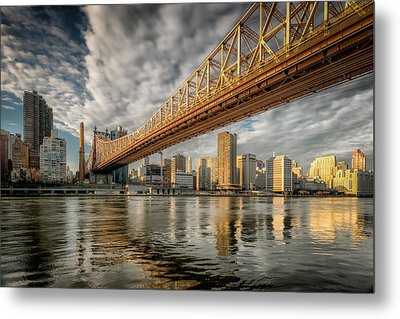 A Bridge With Three Names Metal Print by Linda Karlin