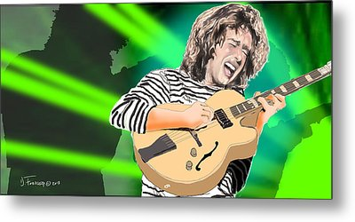 A Bright Size Life Pat Metheny Metal Print