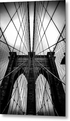 A Brooklyn Perspective Metal Print