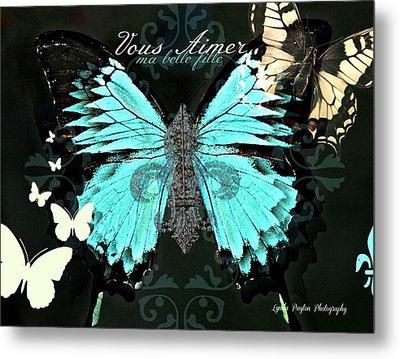 A Butterfly For Terra Metal Print by Lynda Payton