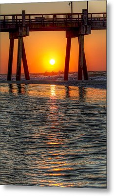 A Captive Sunrise Metal Print by Tim Stanley
