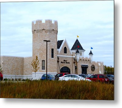 A Cheese Castle Metal Print by Kay Novy