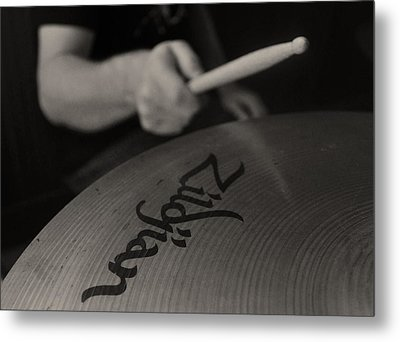 A Cherished National Cymbal Metal Print