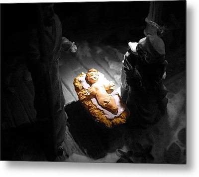 A Child Is Born Metal Print by Nicki Bennett