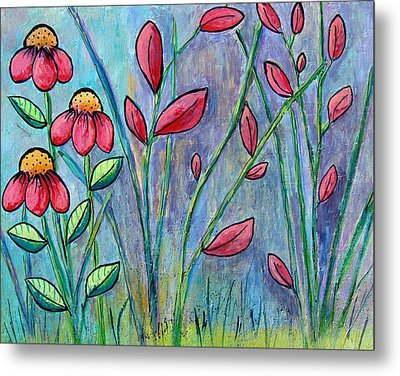 A Child's Garden Metal Print by Suzanne Theis