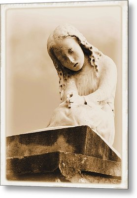 Metal Print featuring the photograph A Child's Prayer by Nadalyn Larsen
