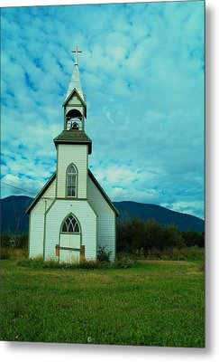 A Church In British Columbia   Metal Print by Jeff Swan