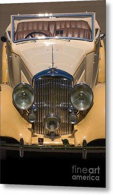 A Classic Rolls Royce Metal Print by Ron Sanford