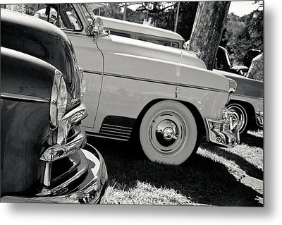 A Classic View Metal Print by Merrick Imagery