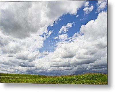 A Cloudy Day Metal Print