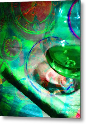 A Cognac Night 20130815p130 Metal Print by Wingsdomain Art and Photography