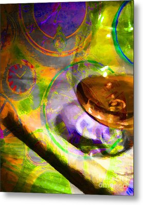 A Cognac Night 20130815p28 Metal Print by Wingsdomain Art and Photography