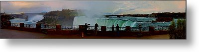 Metal Print featuring the photograph A Cold November Mist Over Niagra by Dennis Lundell