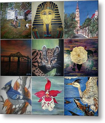 A Collection That Pops Pop Metal Print by Joetta Beauford