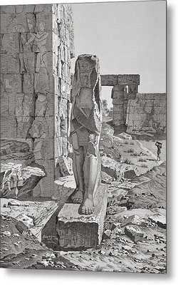 A Colossus At The Entrance Metal Print