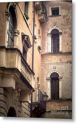 A Corner Of Vicenza Italy Metal Print