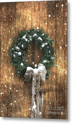 A Country Christmas Metal Print