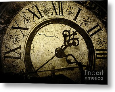 A Crack In Time Metal Print by Sharon Coty