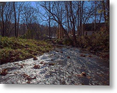 A Creek Runs Though It Metal Print by Thomas Sellberg
