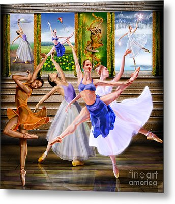 A Dance For All Seasons Metal Print by Reggie Duffie