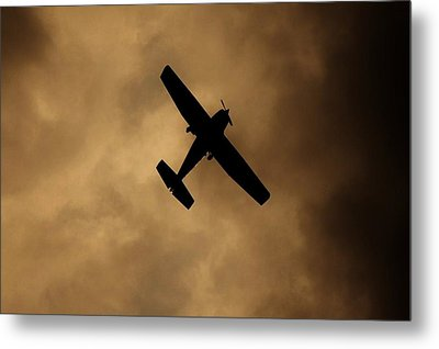 A Dance In The Clouds Metal Print