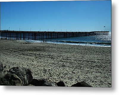 Metal Print featuring the photograph A Day At The Beach by Michael Gordon