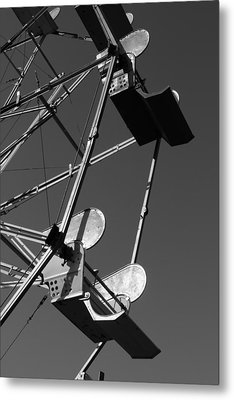 A Day At The Fair Metal Print by Barbara Bardzik