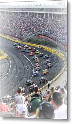 A Day At The Racetrack Metal Print