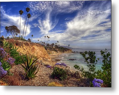 A Day In Laguna Beach Metal Print