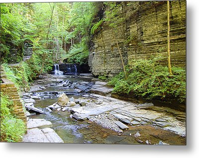 A Day In The Glen Metal Print