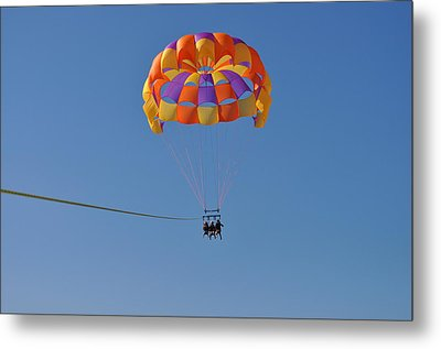 A Day In The Sky Metal Print by Amanda Just
