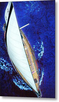 A Day On The Bay Metal Print