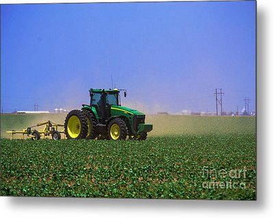 A Day On The Farm Metal Print