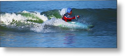 A Day Out With The Kayak. Metal Print